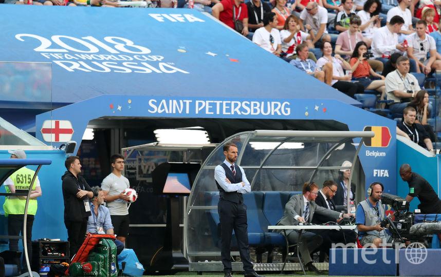 С матча Бельгия - Англия. Фото Getty