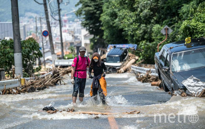 Число погибших наводнений вЯпонии возросло до 216