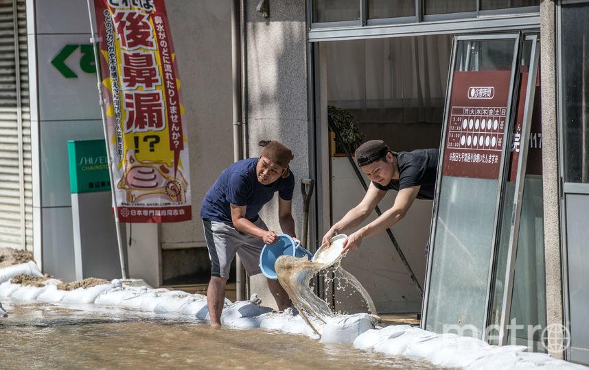 Фото последствий наводнения (11.07.2018). Фото Getty