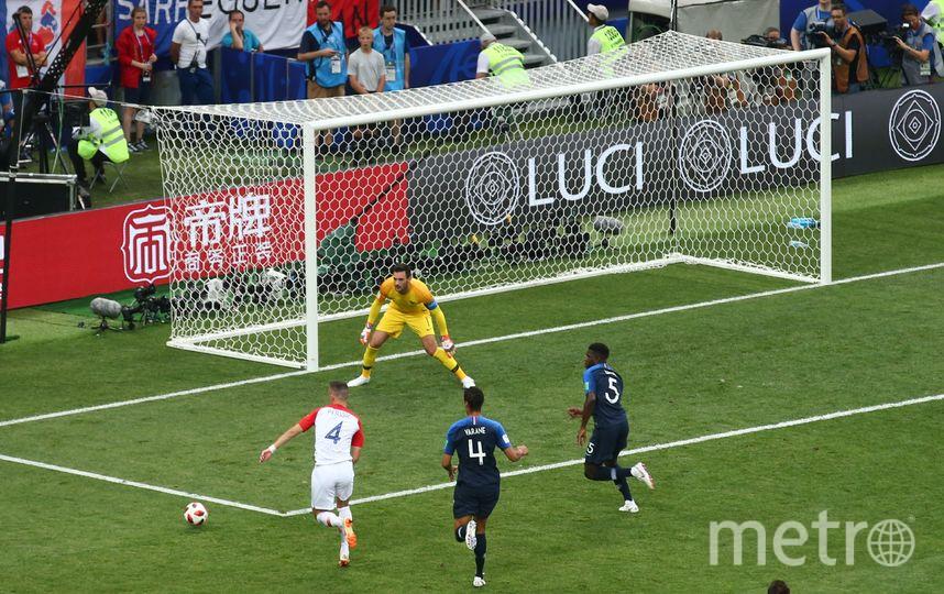 Фрагменты матча Франция - Хорватия. Фото Василий Кузьмичёнок