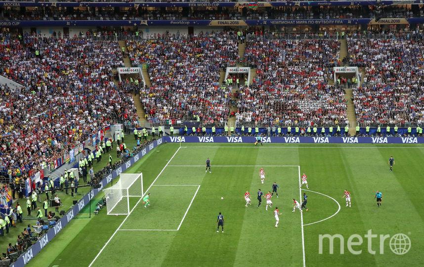 """Стадион """"Лужники"""", финал Франция-Хорватия. Фото Getty"""
