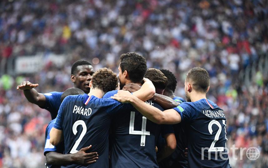 Французы стали чемпионами мира по футболу. Фото AFP
