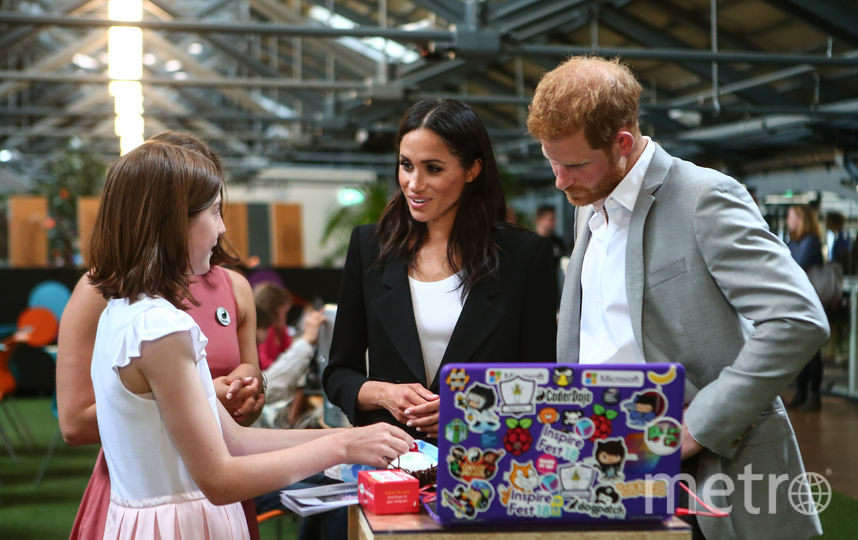 Принц Гарри и Меган Маркл во время июльского визита в Ирландию. Фото Getty