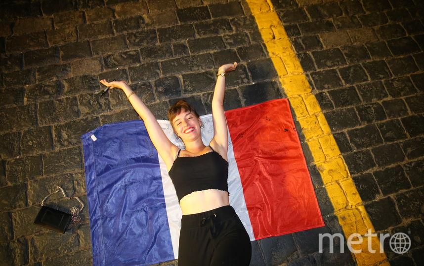 Фанаты на Красной площади. Фото Василий Кузьмичёнок