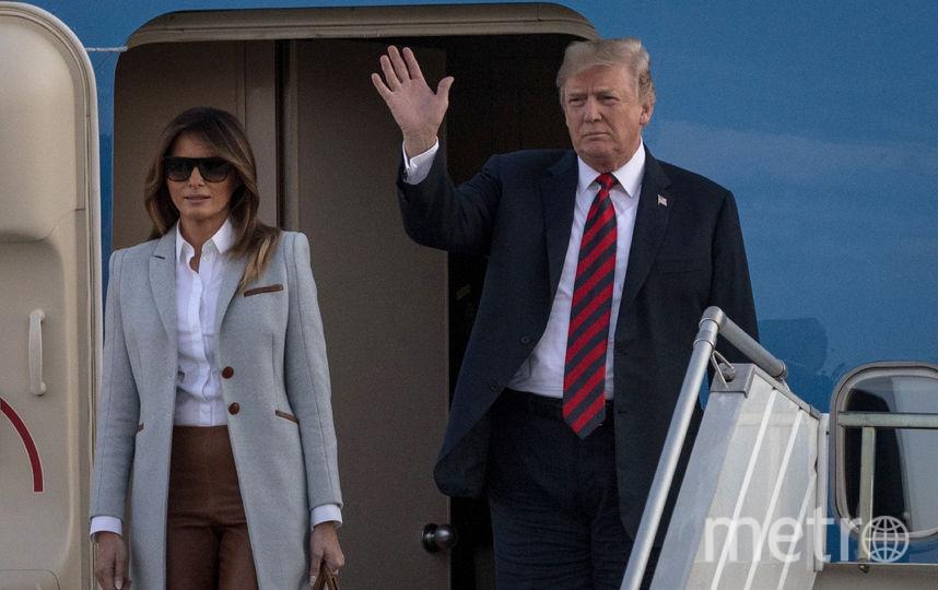 Дональд и Мелания Трамп прибыли в Хельсинки. Фото Getty