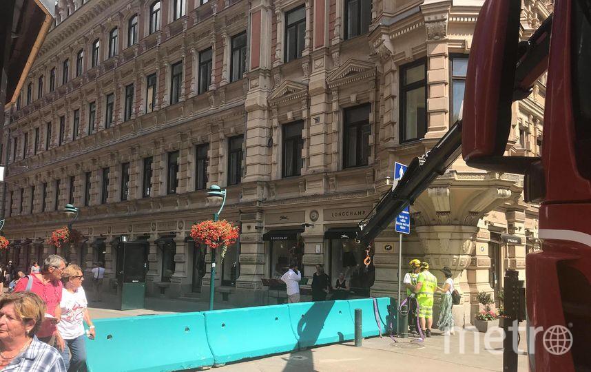 """Хельсинки готовится к саммиту. Фото """"Metro"""""""