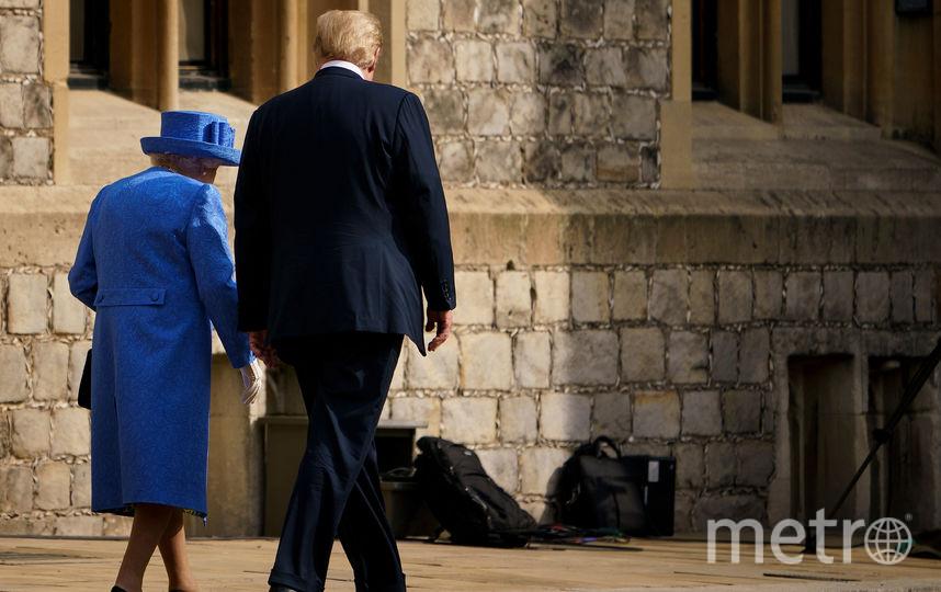 Елизавета II и Дональд Трамп. Фото AFP