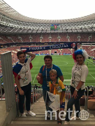 Мы любим футбол! Смотрите футбол, играйте в футбол! Фото Елена Трубина