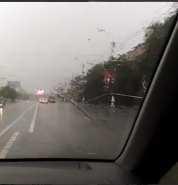 Волгоград поплыл после мощного дождя.