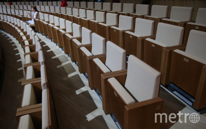 В большом зале концертного зала «Зарядье» 1600 мест. Фото Василий Кузьмичёнок
