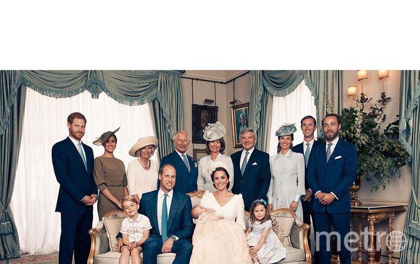 Официальные фото с крестин принца Луи. Фото Скриншот Instagram: @kensingtonroyal