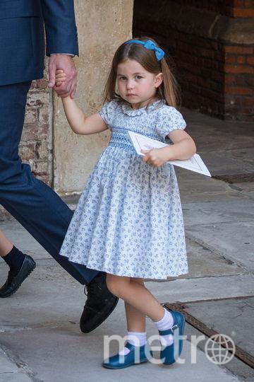 Крестины принца Луи. Принцесса Шарлотта. Фото Getty