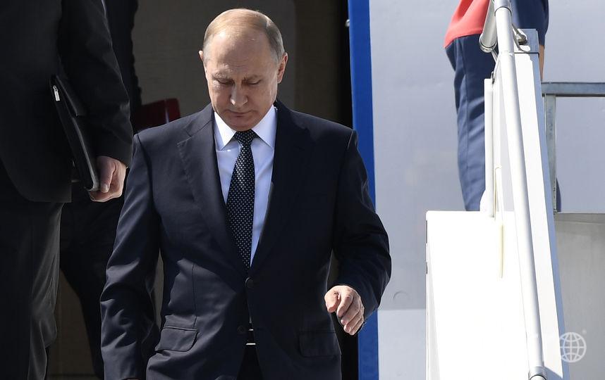 Владимир Путин прилетел в Хельсинки на встречу с Дональдом Трампом. Фото AFP