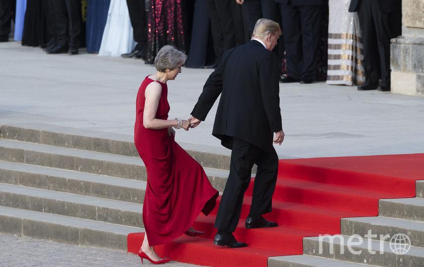 Дональд Трамп и Тереза Мэй. Фото AFP