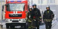 В Москве при пожаре в автосервисе пострадали три человека