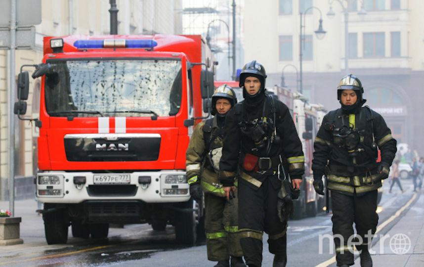 Пожарные. Фото РИА Новости