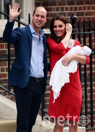 С принцем Луи. Фото Getty