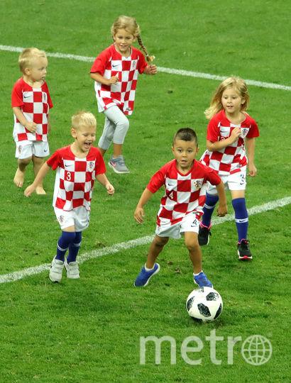 Дети хорватских футболистов. Фото Getty