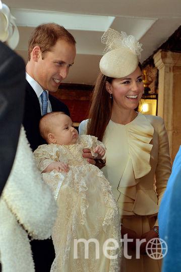 Крестины принца Джорджа в 2013-м году. Фото AFP