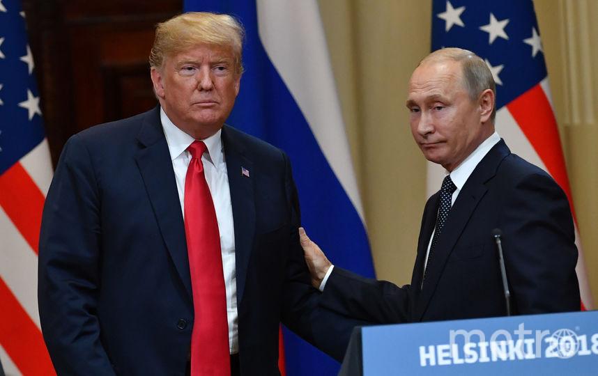 Владимир Путин и Дональд Трамп встретились в Хельсинки. Фото AFP