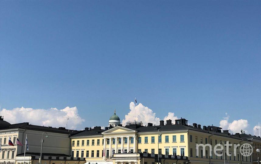 "Президентский дворец в Хельсинки. Фото Филипп Ковалёв, ""Metro"""