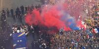 Сборной Франции по футболу устроили роскошный приём в Париже: яркие фото