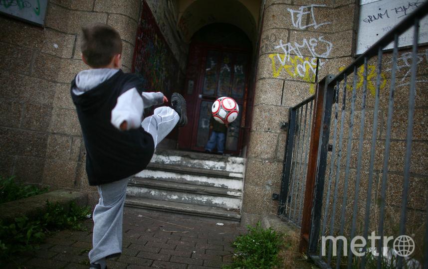 Футбол дает детям невероятный азарт! Фото архивное фото., Getty
