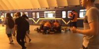 Человек упал на рельсы в метро Петербурга: движение восстановили за 15 минут