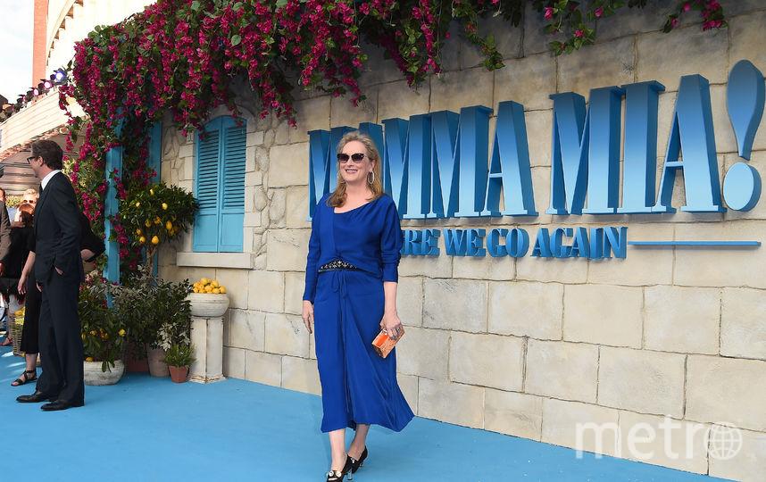 """Лондонская премьера фильма """"Mamma Mia! 2"""". Мерил Стрип. Фото Getty"""