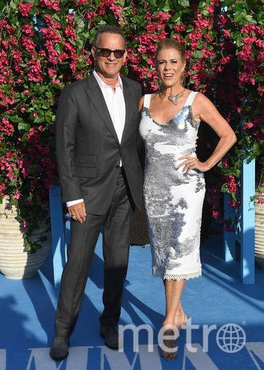 """Лондонская премьера фильма """"Mamma Mia! 2"""". Том Хэнкс с женой. Фото Getty"""