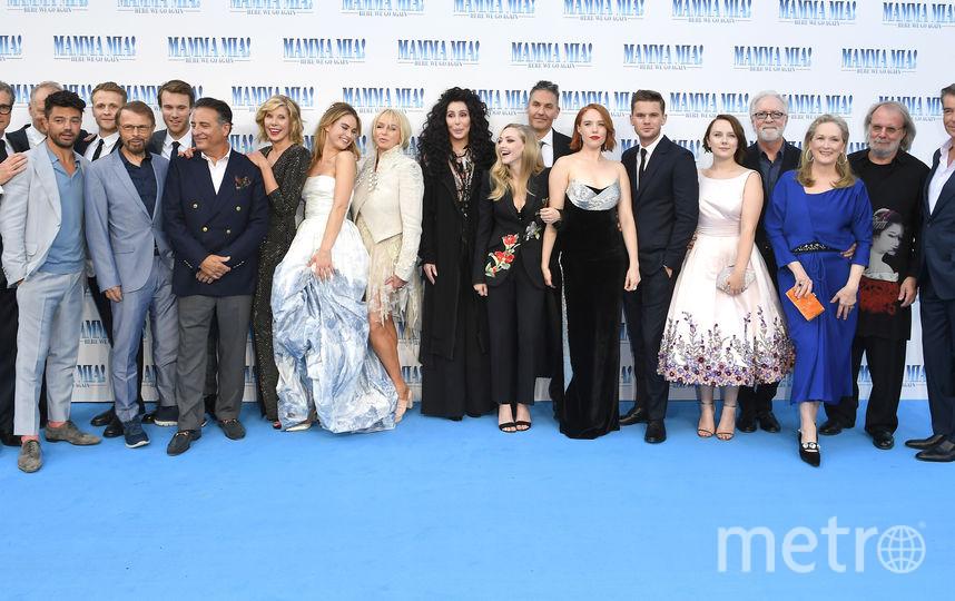 """Лондонская премьера фильма """"Mamma Mia! 2"""". Фото Getty"""