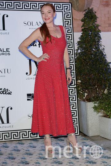 Актриса Линдси Лохан. Фото Getty