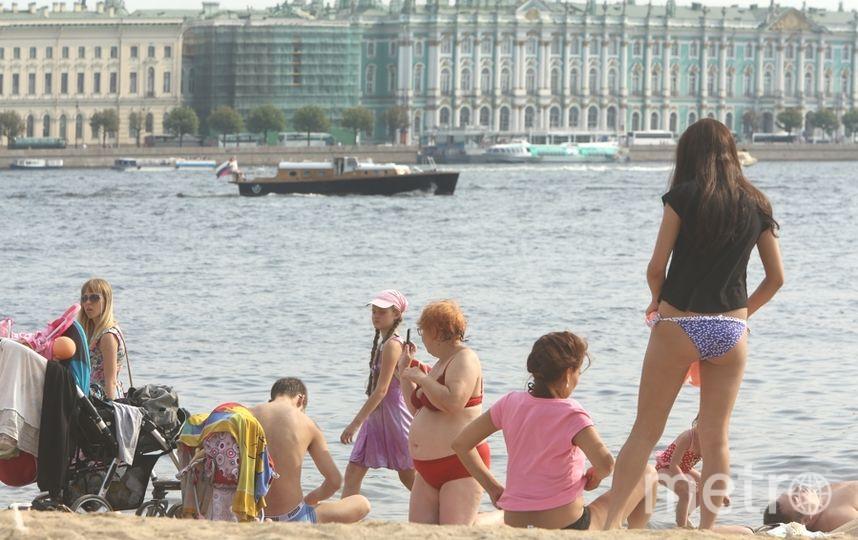 Жара в Петербурге. Фото архив, Интерпресс