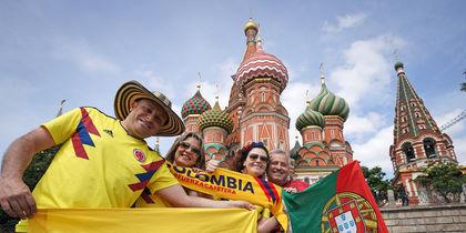 Фанаты со всего мира рассказали, какой запомнят Москву: репортаж