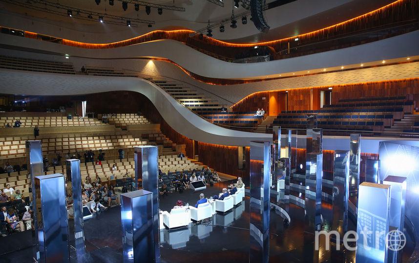 """Новый концертный зал """"Зарядье"""" изнутри. Фото Василий Кузьмичёнок"""