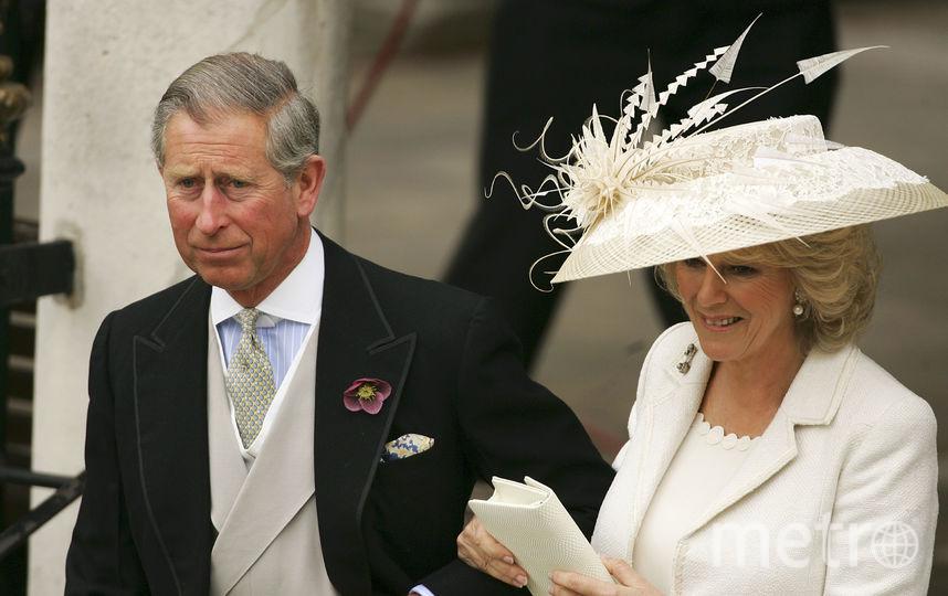 Свадьба принца Чарльза и Камиллы в 2005 году. Фото Getty