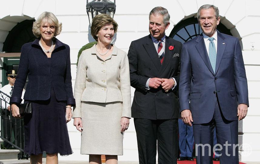 Встреча с Джорджем Бушем в Белом доме. Фото Getty