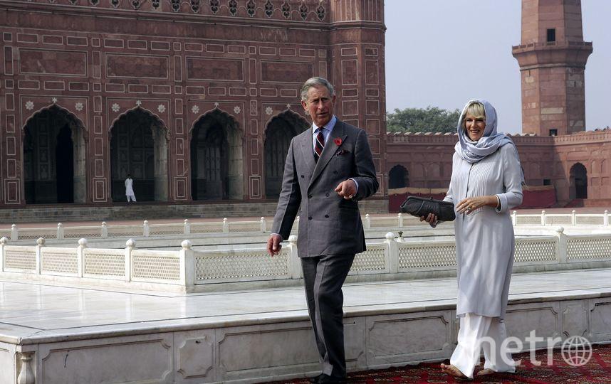 Визит в Индию в 2006 году. Фото Getty