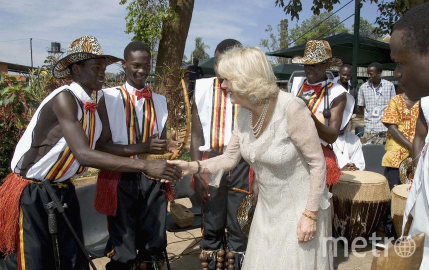 Поездка в Уганду в 2007 году. Фото Getty