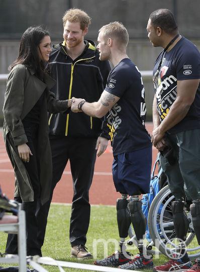 Меган Маркл с мужем – принцем Гарри. Фото Getty