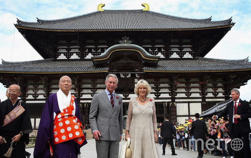 Визит в Японию в 2008 году. Фото Getty