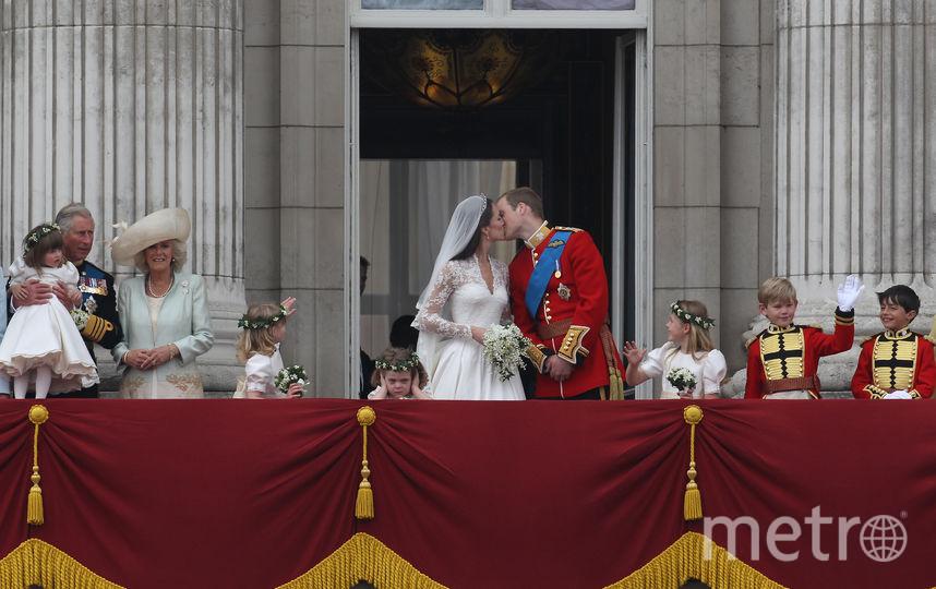На свадьбе принца Уильяма. Фото Getty