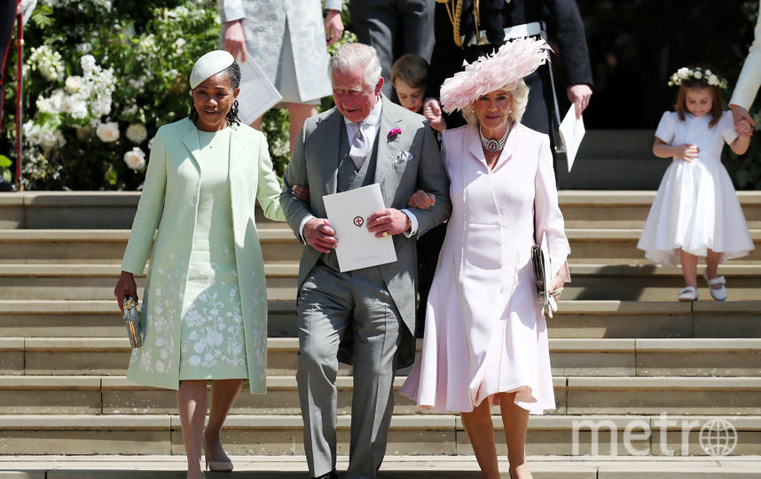 На свадьбе принца Гарри, 2018. Фото Getty