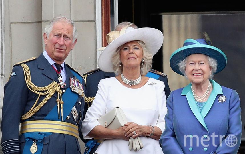 Принц Чарльз, Камилла и Елизавета II. Фото Getty