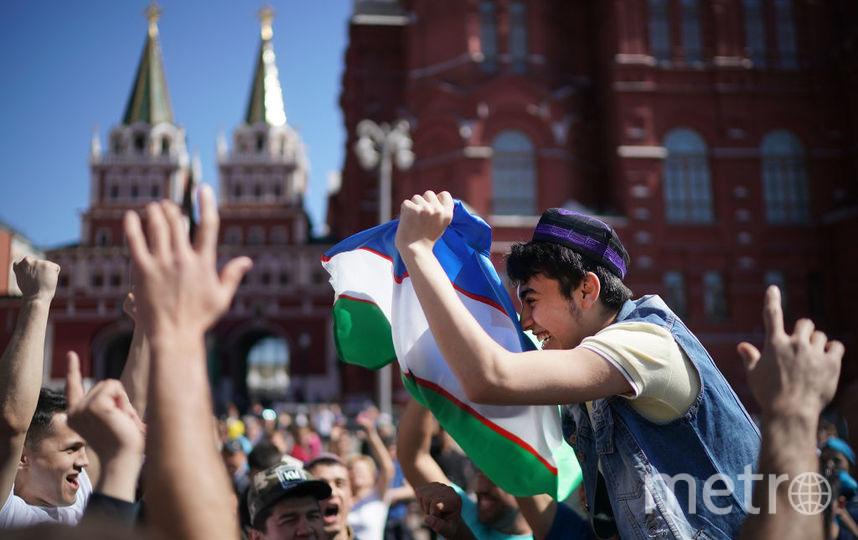 Болельщики ЧМ-2018 в Москве. Фото Getty
