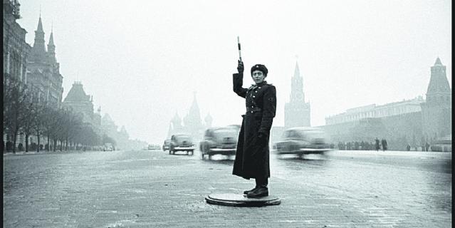 ГАИ на Красной площади.