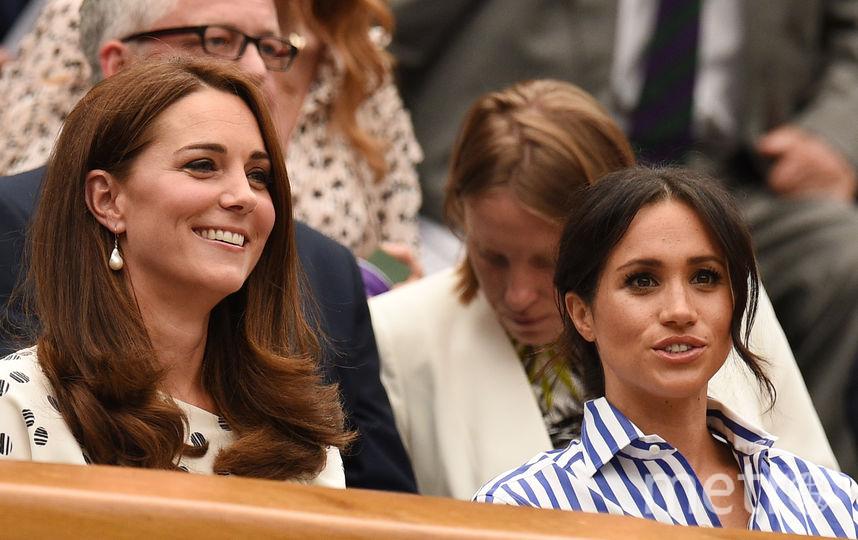 Кейт Миддлтон и Меган Маркл. Фото AFP