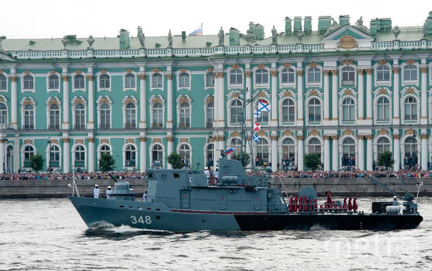 """День ВМФ в Петербурге в 2017-м году. Фото """"Metro"""""""