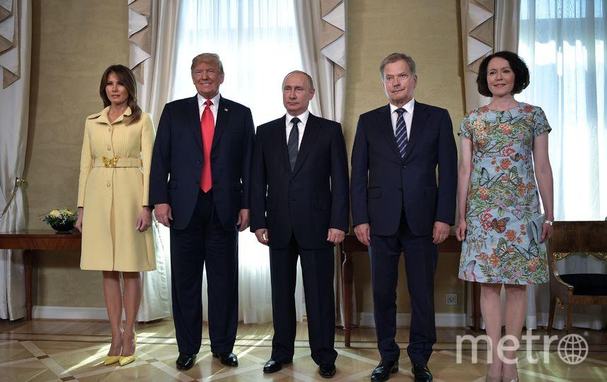 Встреча Владимира Путина с Дональдом Трампом прошла 16 июля в Хельсинки. Фото AFP