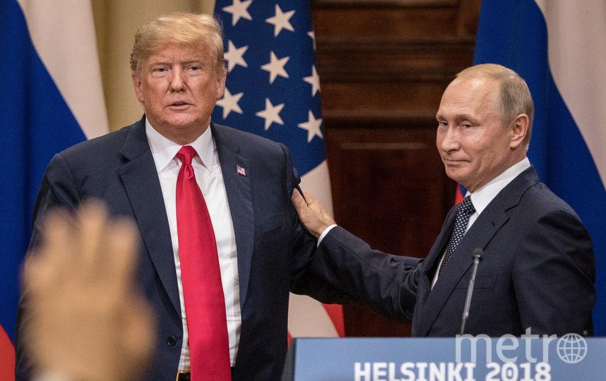 Владимир Путин и Дональд Трамп. Фото Getty